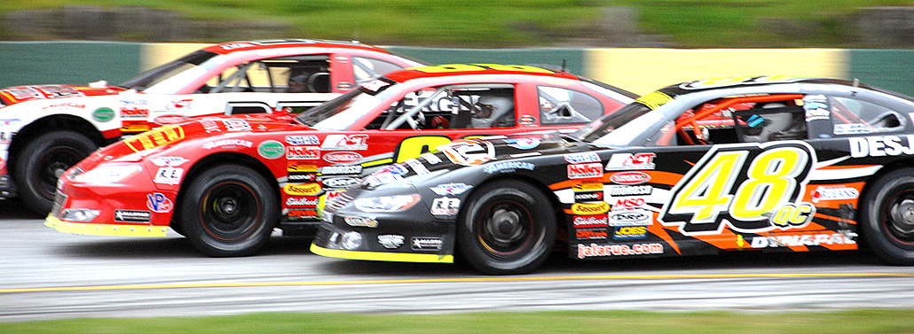 Late Model Stock Car Racing Tires for Asphalt Tracks